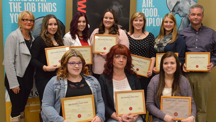 CWB Welding Foundation presents Post-Secondary Awards to CNA welding students
