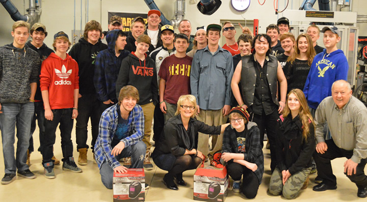 Beamsville students tour Advanced Welding Technology Centre