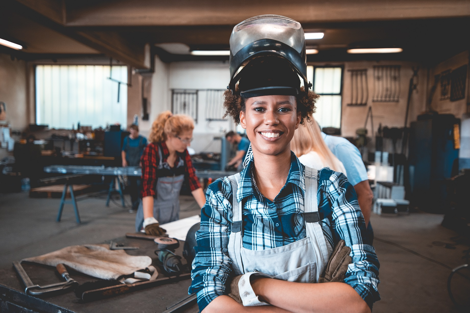 Women of Steel virtual event introduces women to different career paths in welding