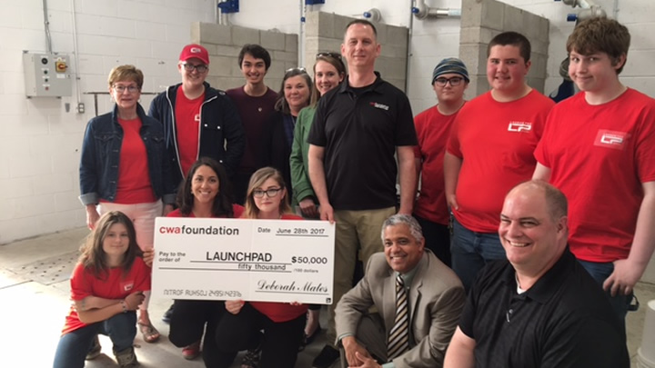 CWA Foundation provides funds for LAUNCH PAD welding program