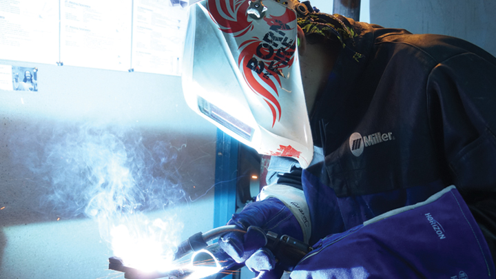 Rise of the phoenix: New welding lids for secondary schools