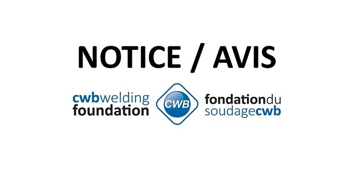 CWB Welding Foundation on impact of COVID-19 | La Fondation du soudage CWB et l'impact de la COVID-19