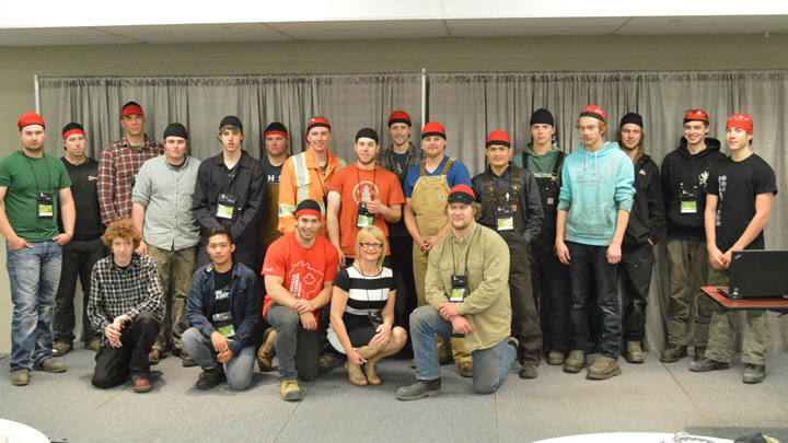 CWA Foundation presents cheques to Skills Canada National Competition competitors
