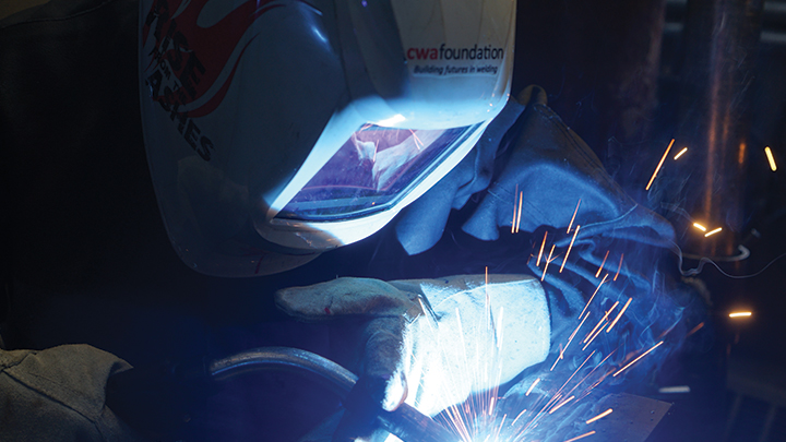 CWB Welding Foundation helps mothers learn about arcs and sparks