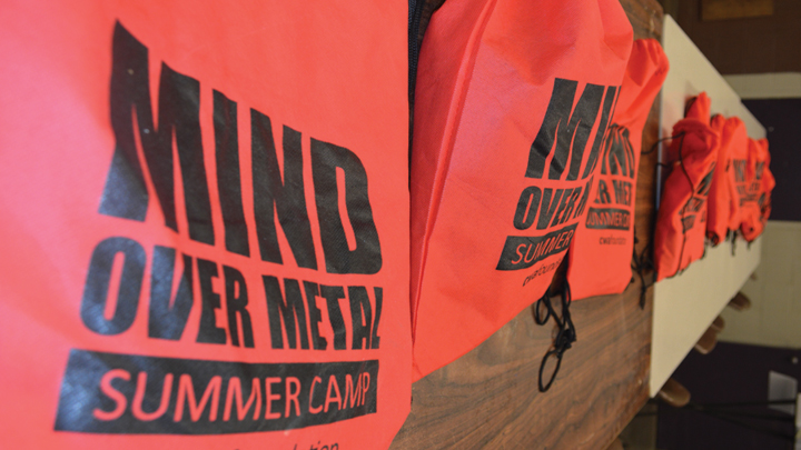 Inaugural Mind over Metal camp inspires young welder to pursue welding