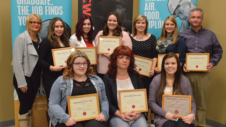 CWA Foundation Presents College of the North Atlantic Students with Awards