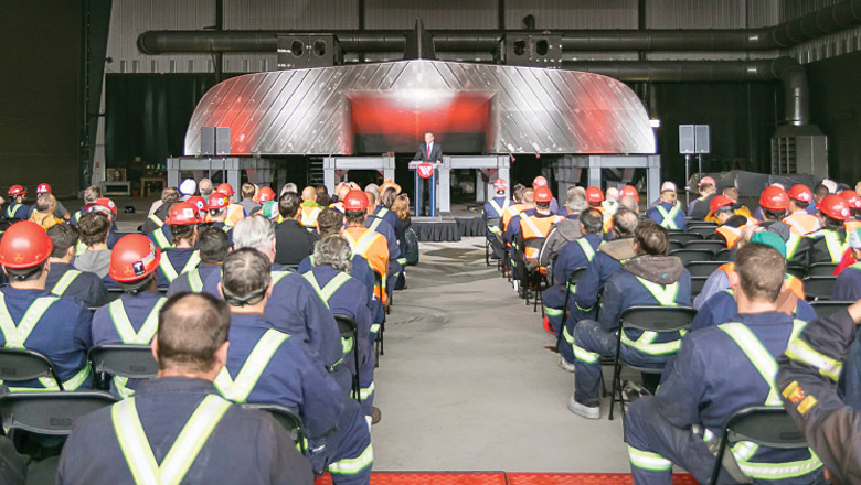 Dennis and Phyllis Washington Foundation in conjunction with Seaspan donates  $300,000 towards BC High School welding programs